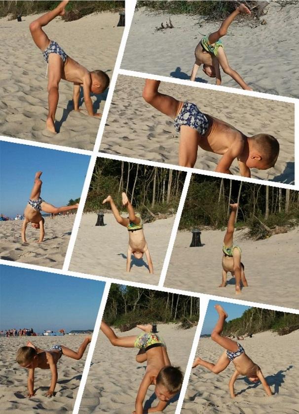 sposoby na spędzenie wolnego czasu z dzieckiem nad morzem