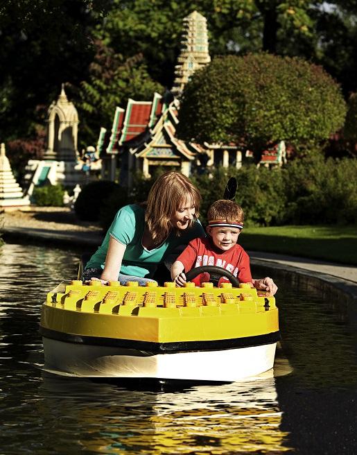 Legoland atrakcje dla małych dzieci