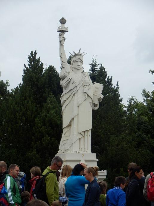 Budowle Lego-statua wolności