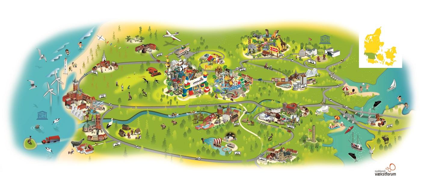 atrakcje dla dzieci okolice LEGOLAND Dania