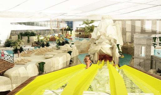 atrakcje zjeżdżalnie dla dzieci aquapark reda blisko morza