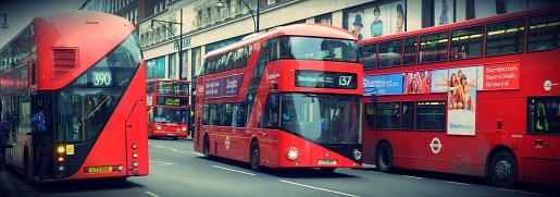 autobusy Londyn transport