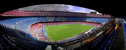 Barcelona stadion zwiedzanie z dzieckiem camp nou