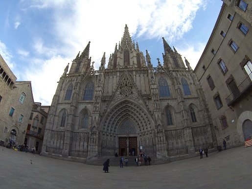 barri gotic atrakcje na weekend Barcelona z dzieckiem