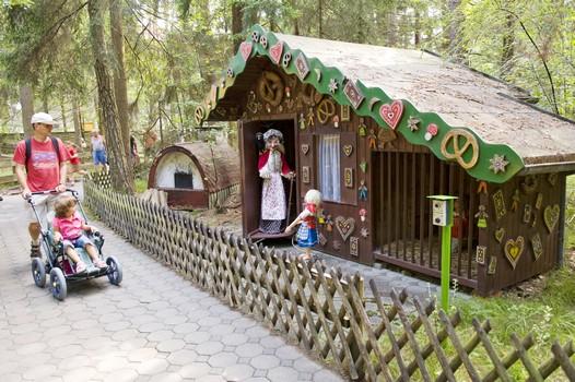atrakcje dla dzieci Bawaria Baśniowy Las