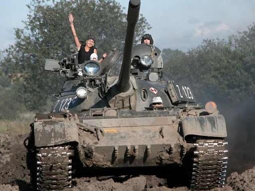 przejazd czołgiem Kołobrzeg atrakcje