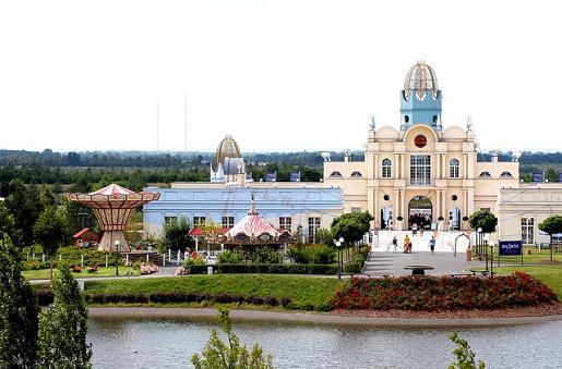 belantis zamek w parku rozrywki atrakcje dla dzieci