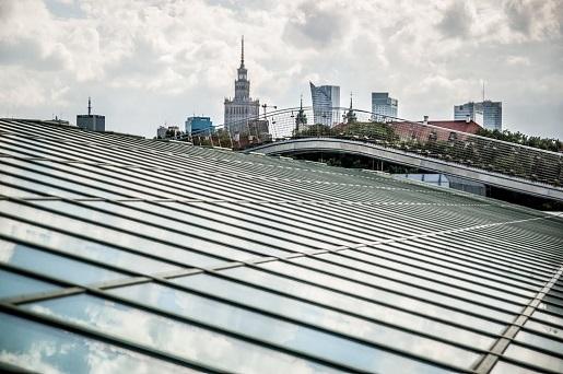 biblioteka uniwersytetu warszawskiego dach ogród 2