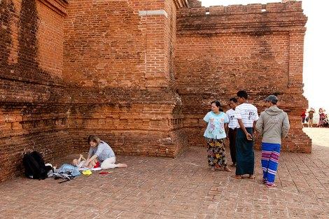 birma z dzieckiem blog