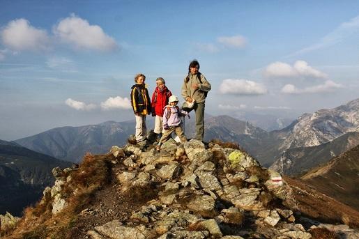 blog z dziećmi w górach