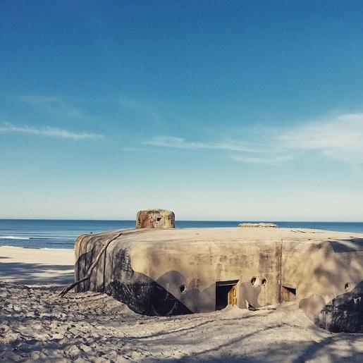 bunkier półwysep helski - ścieżka rowerowa