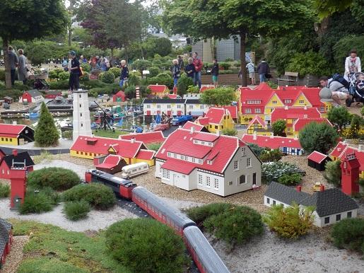 Miasta z klocków w Legoland Billund