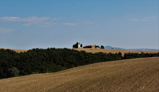 Toskania Włochy wakacje z dzieckiem Capella della Madonna