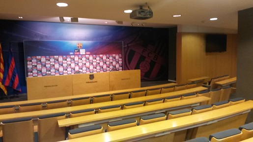 centrum prasowe stadion FC Barcelony opinie