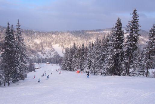 Czyrna Solisko Szczyrk narty trasy
