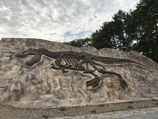 dinozaury Park Ewolucji Sławutówko opinie zdjęcia