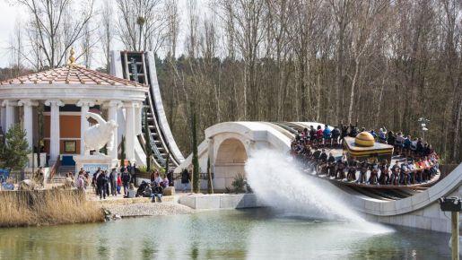 atrakcje dla dzieci Francja parki rozrywki