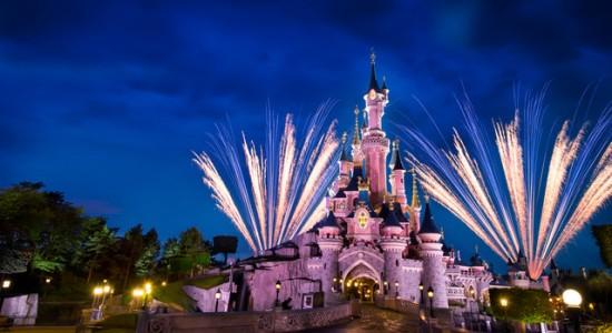 rodzinny park rozrywki Disneyland Francja