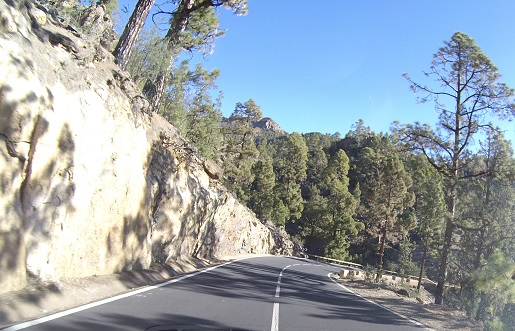jaka droga na wulkan Teide- dojazd opinie