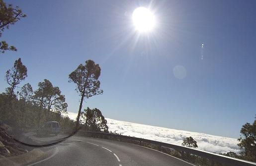 Teneryfa Wulkan Teide morze chmur - widoki, dojazd, pogoda