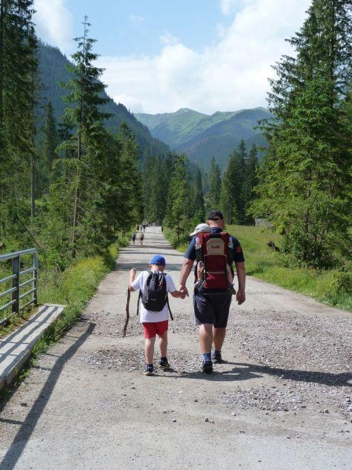 Tatry z dzieckiem Dolina Chochołowska opinie