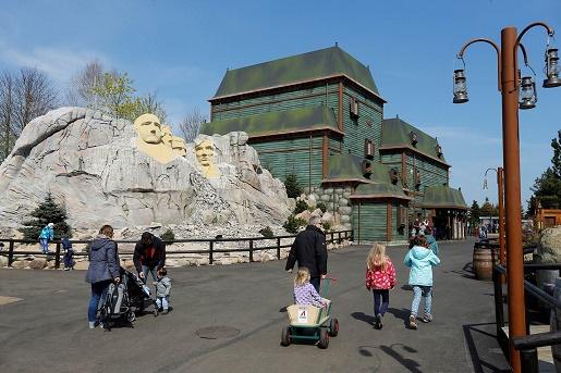 atrakcje Legoland Dania - dom bardzo nawiedzony