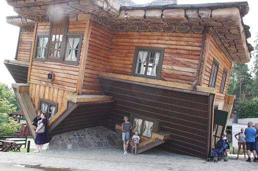 dom do góry nogami Kaszuby wakacje z dzieckiem 12