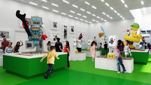 Experience Zone Lego House Dania atrakcje