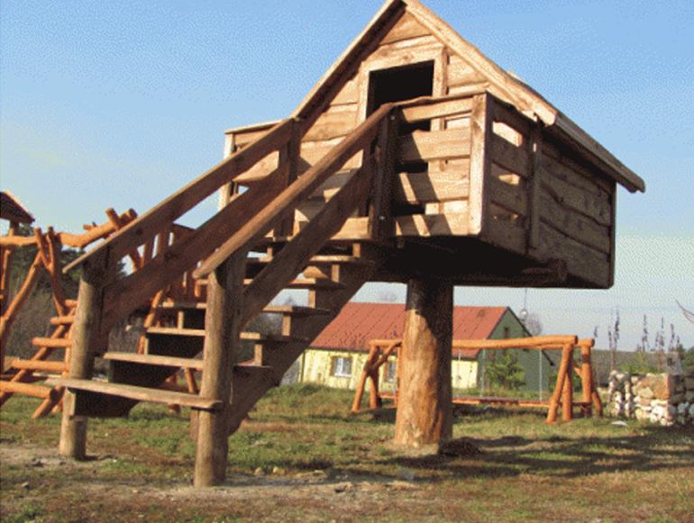 domki ogrodowe drewniane