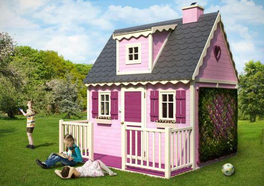 domek królowej ogrodowy