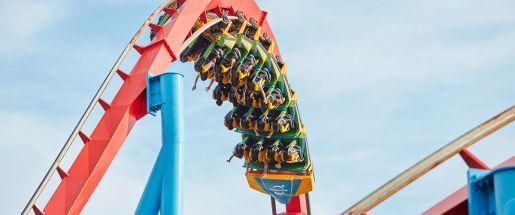atrakcje roller coaster Port Aventura Salou