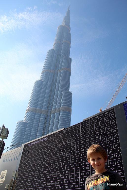 dubaj z dzieckiem burj khalifa 11