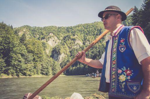 pieniny z dziećmi opinie atrakcje Spływ Dunajcem