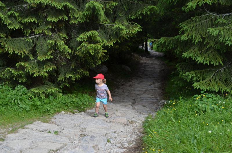Na górskim szlaku z dzieckiem