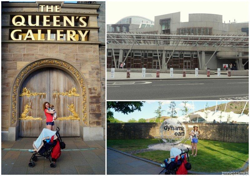 Edynburg Szkocja Pałac Holyrood atrakcje opinie