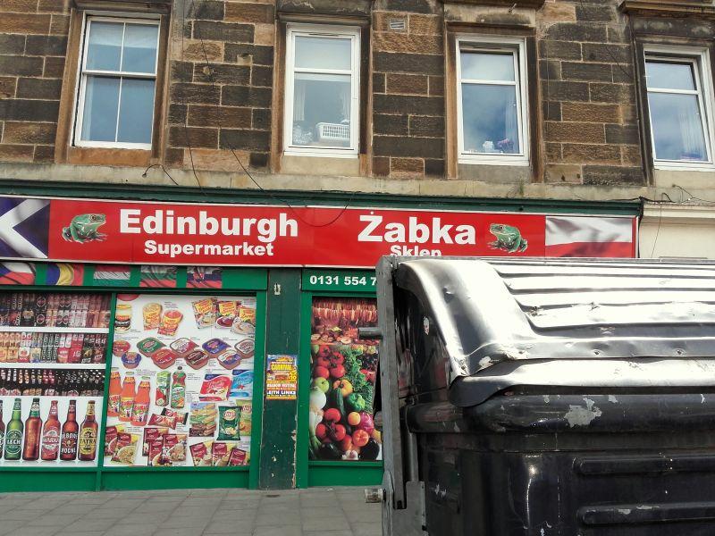 Edynburg podróż z niemowlakiem do Szkocji