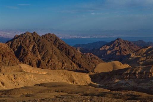 Eilat pustynia góry atrakcje IZrael
