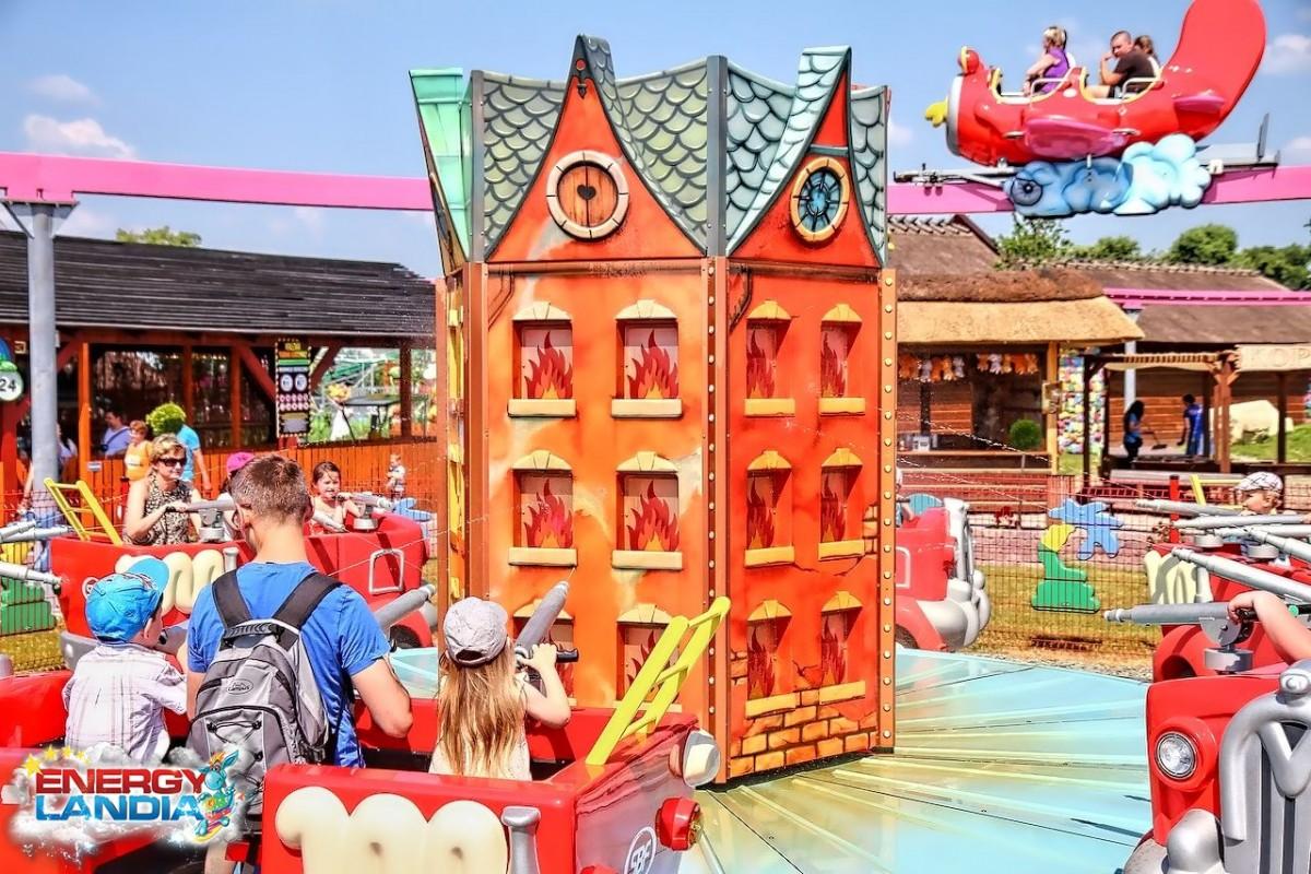 atrakcje dla dzieci Zator park rozrywki
