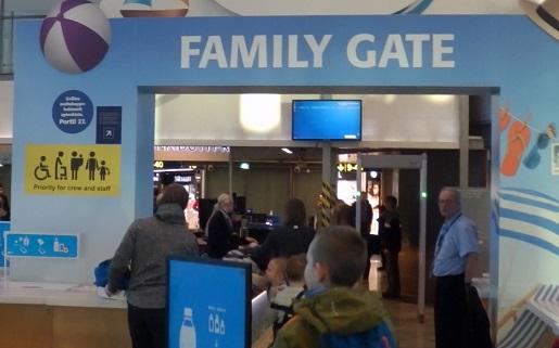 family airport helsinki udogodnienia dla dzieci