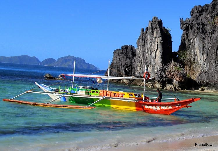 rejsy łodzią Filipiny