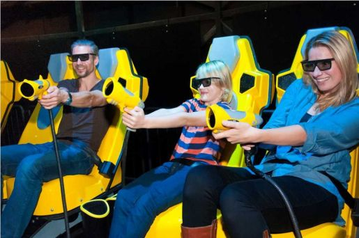 rodzinny park rozrywki Babelsberg Poczdam opinie