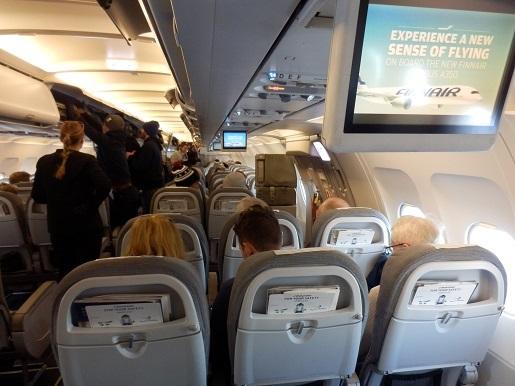 Finnair Helsinki Rovaniemi opinie
