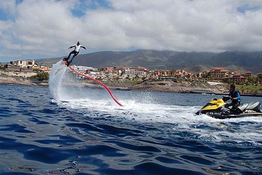 fly board Teneryfa wodne atrakcje