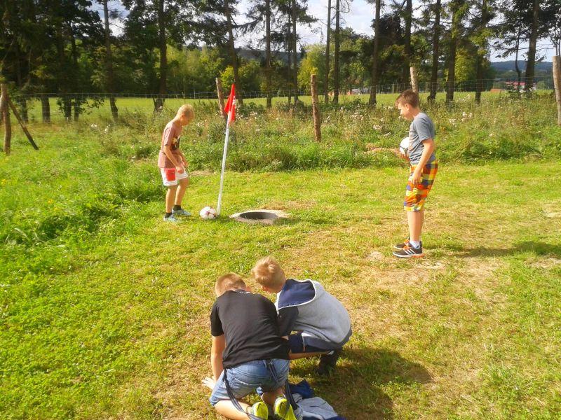Footgolf Przywidz atrkacje dla dzieci