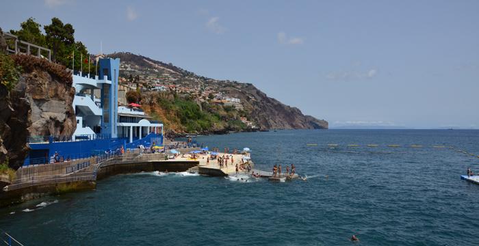 plaża Funchal Madera rodzinne atrakcje