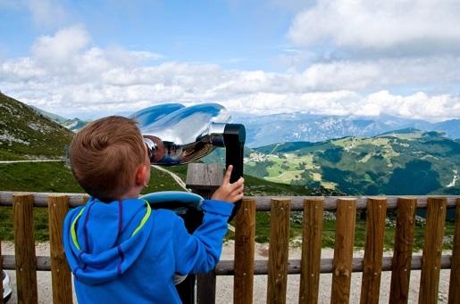 zwiedzanie z dzieckiem Garda Włochy