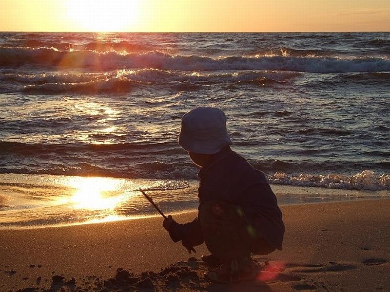 Krynica Morska Piaski z dzieckiem opinie atrakcje