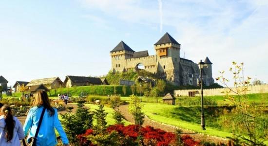 Warownia Inwałd rodzinne atrakcje Małopolska