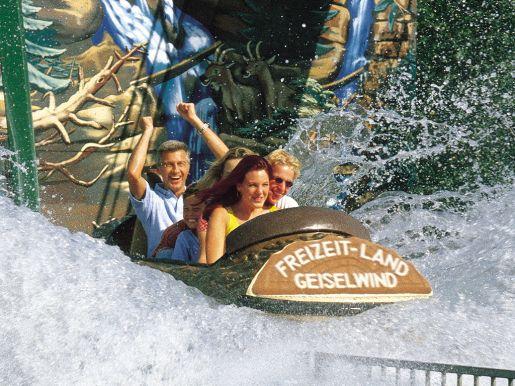 park rozrywki Geiselwind opinie atrakcje