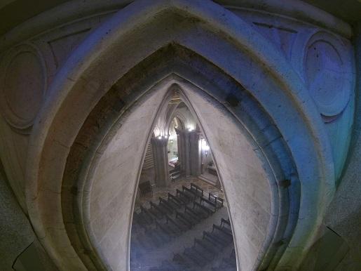 grób Gaudiego w Sagrada Familia
